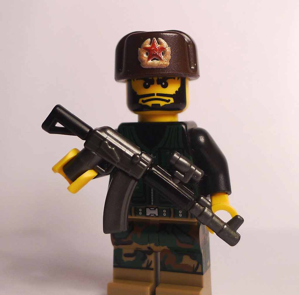 Overly Tactical Lego